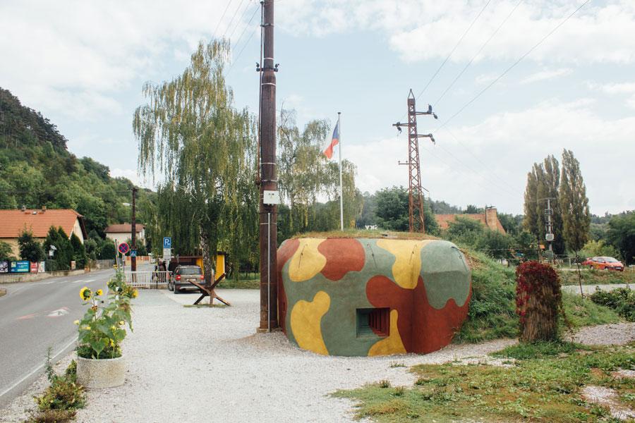 ДОТ возле деревни