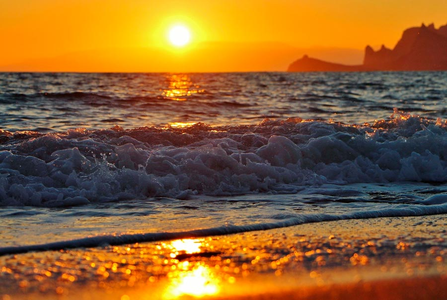 Пляжи Судака фото