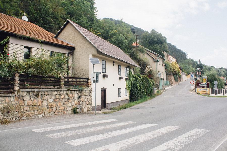 Поворот в деревню