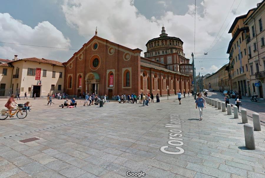 Базилика Santa Maria delle Grazie фото