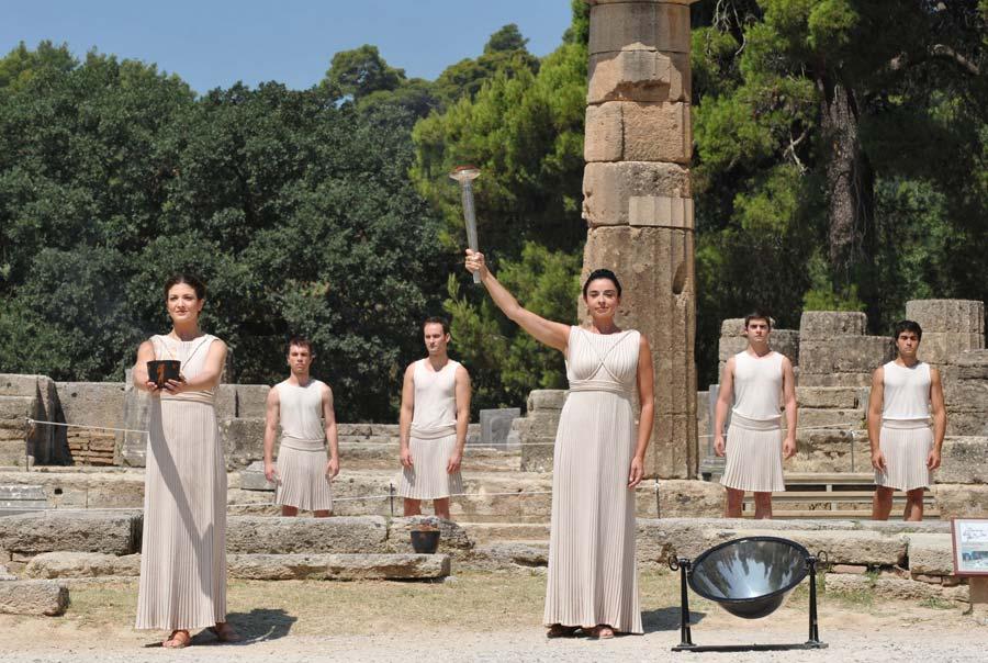 Древняя Олимпия (Пелопоннес)