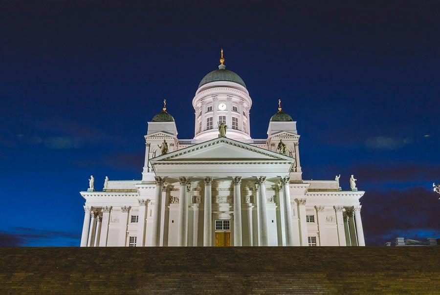 Кафедральный собор Хельсинки фото