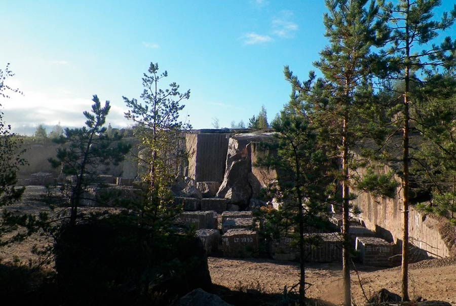 Каменоломни Пютерлахти фото