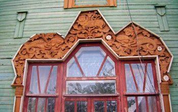 Резные окна