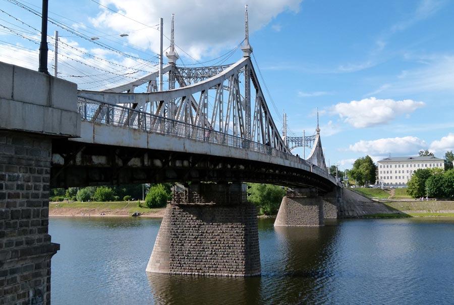 Староволжский мост фото