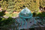 Павильон со стеклянным куполом