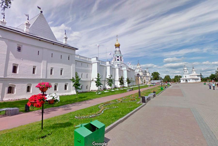 Вологодский Кремль фото