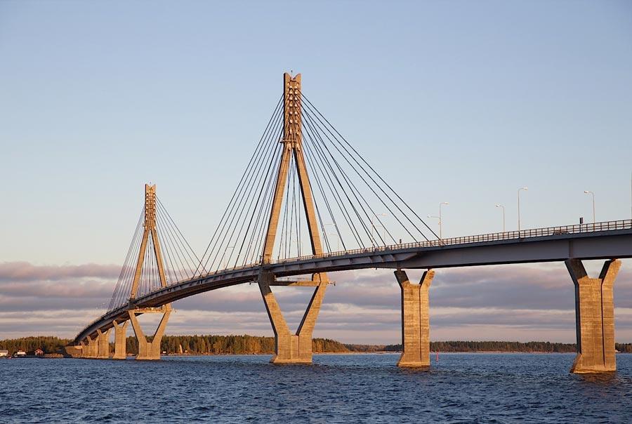 Архипелаг Кваркен и мост Реплот фото