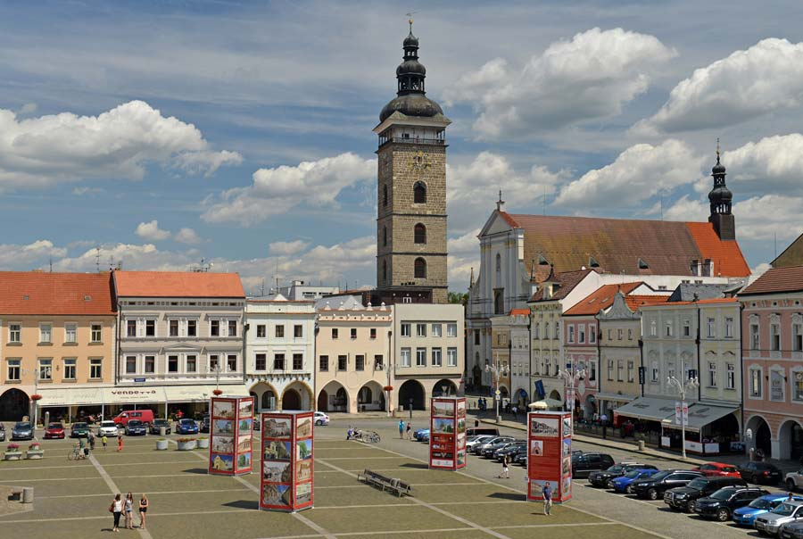 Площадь в Ческе-Будеёвице