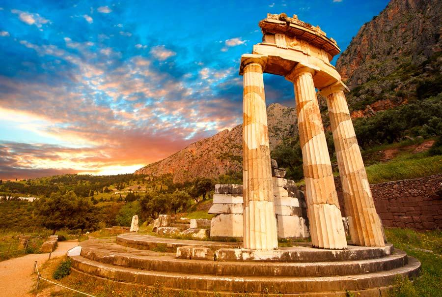 Руины греческого храма