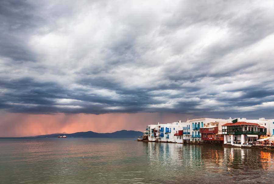Непогода на побережье