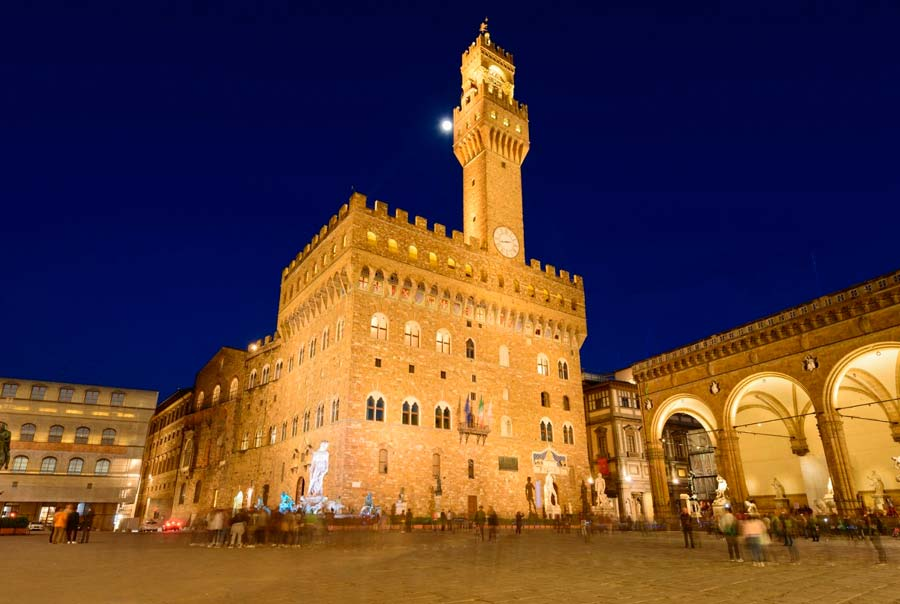 Площадь и палаццо