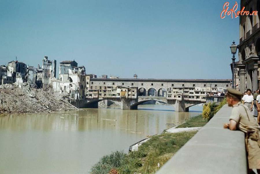 Вид города после войны