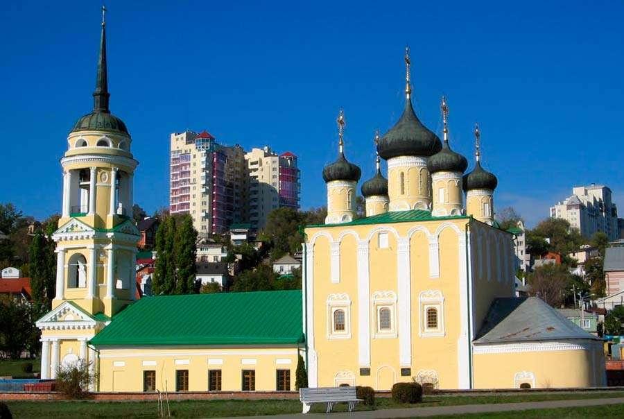Описание достопримечательностей Воронежа