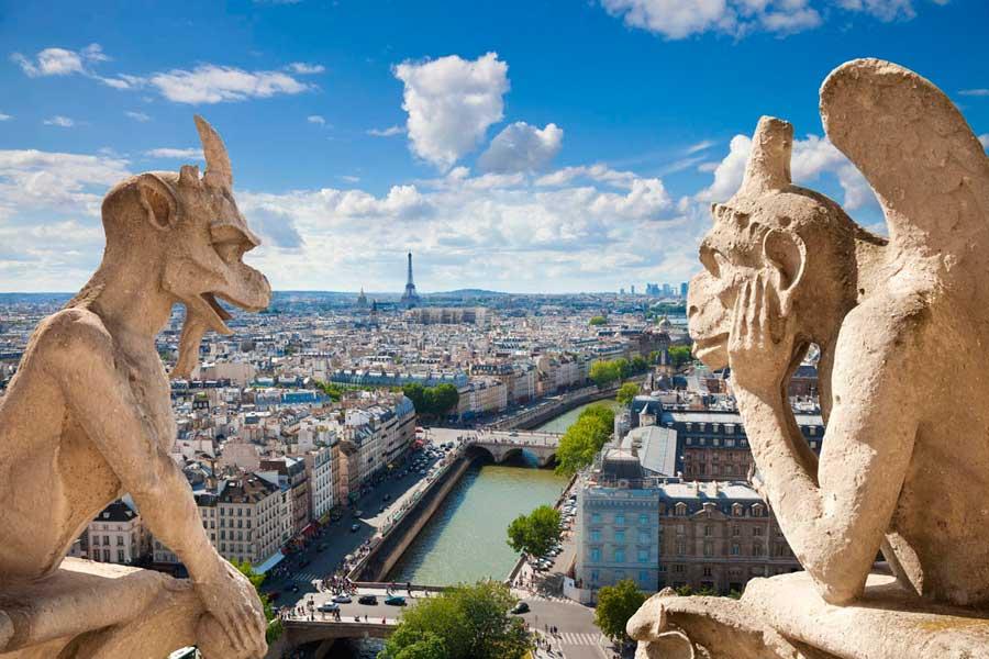 17 главных достопримечательностей Парижа