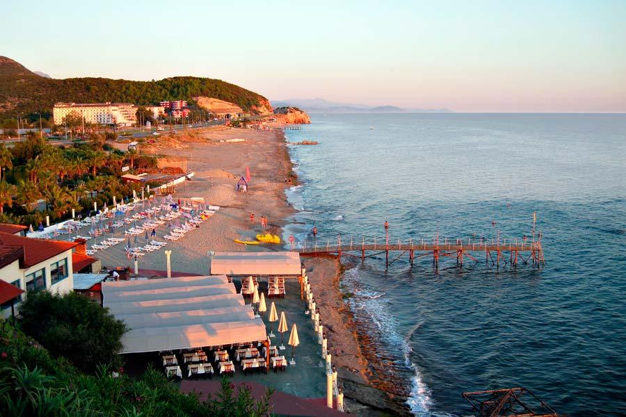 Город Конаклы в Турции