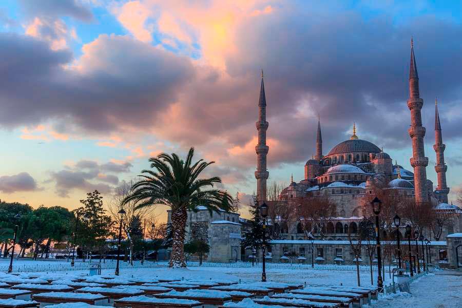 Отдых в Турции в январе