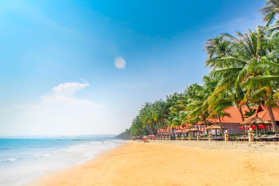 Город Фантьет во Вьетнаме