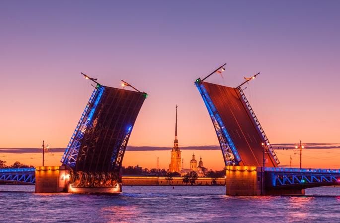 Когда начинаются белые ночи в Санкт-Петербурге?