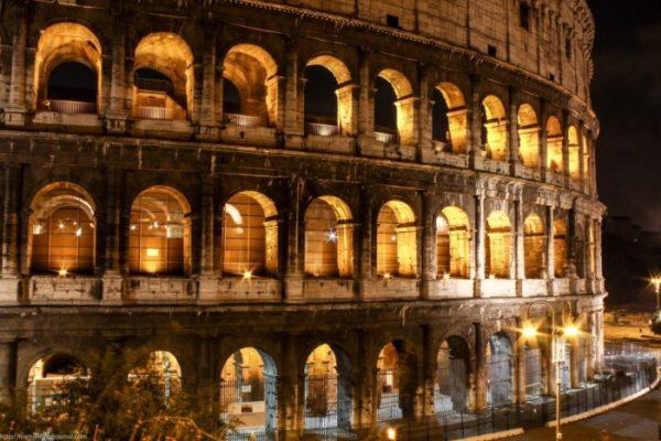 Вид на Колизей