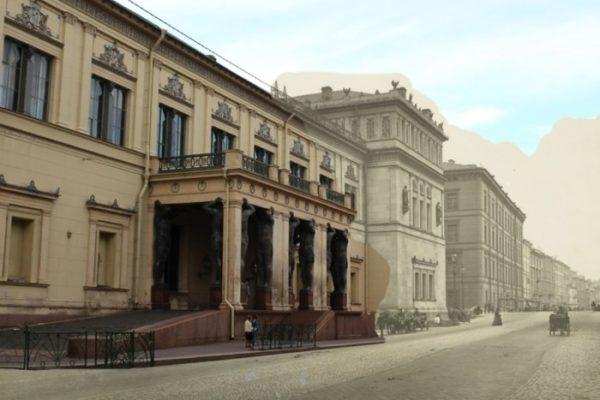 Миллионная улица, старое фото