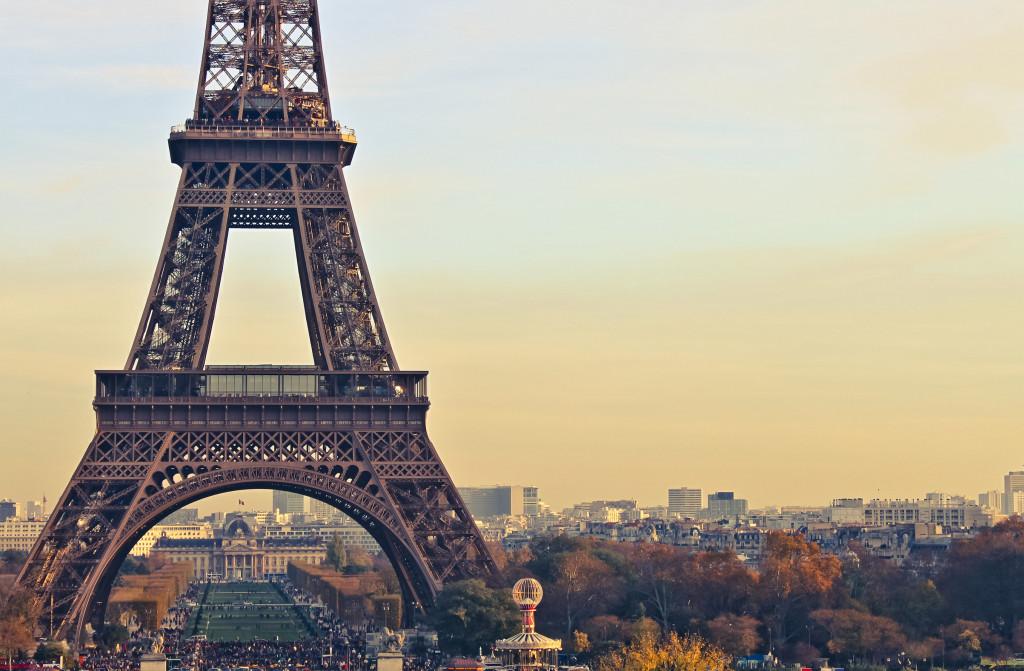 Первый раз в Париже