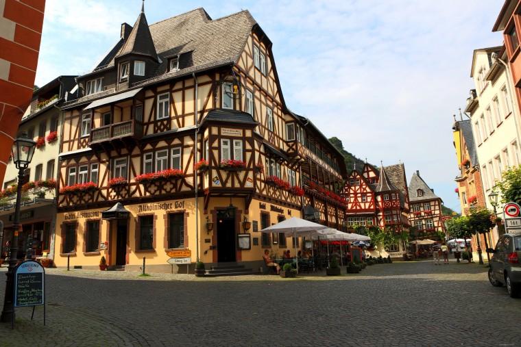 Немецкий город Бахарах