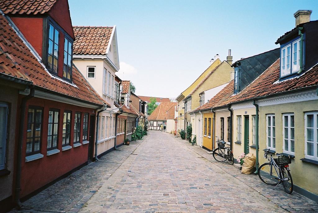 Датский город Оденсе