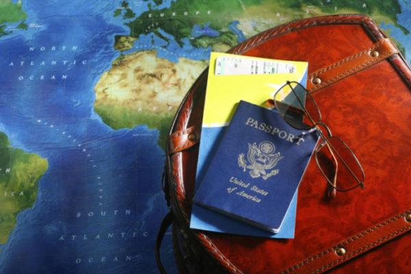 Первый раз за границу