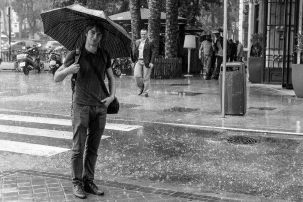 Роскин Михаил. Дождь.