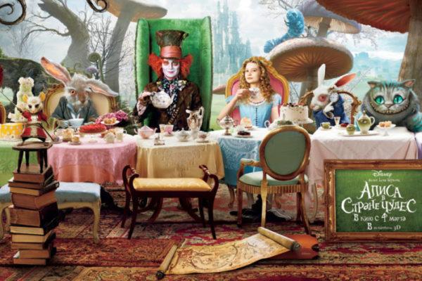 История Алисы в стране чудес