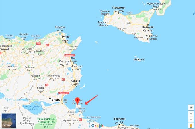 Отдых на острове Джерба в Тунисе