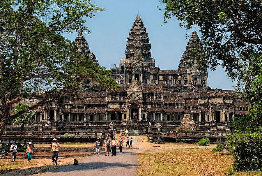 Ангкор-Ват-храмовый-комплекс-в-Камбодже