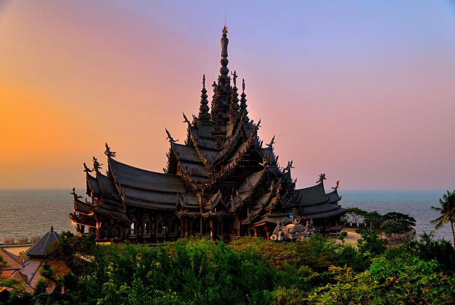 Храм-Истины-Тайланд