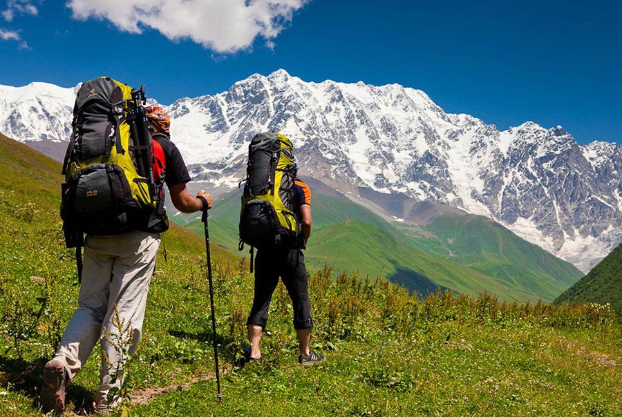 Пара в горах