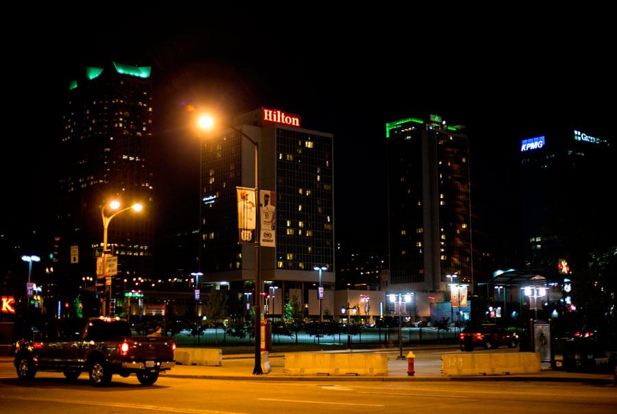 Ночная прогулка по одному из самых опасных городов США