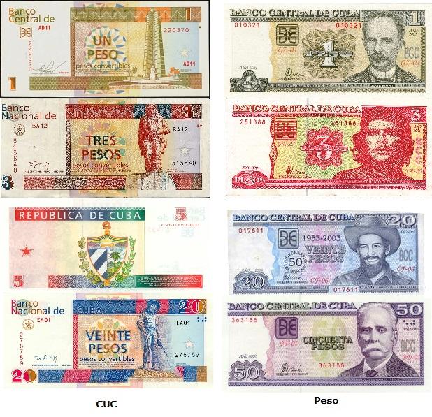 Как отличить валюту Кубы