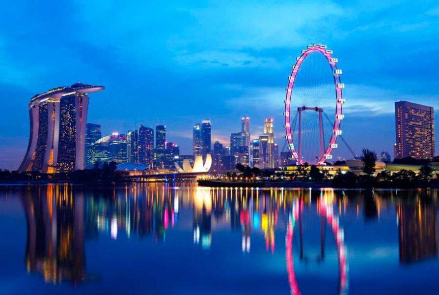 Продукты и сувениры из Сингапура