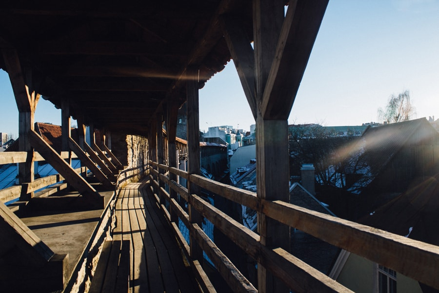 Таллинская крепостная стена