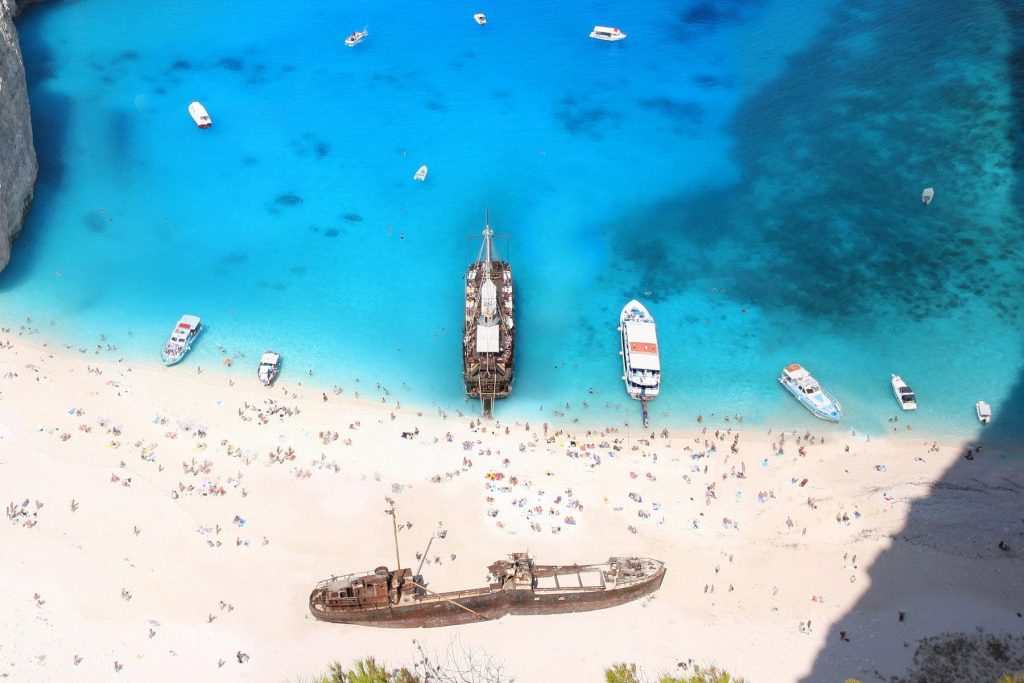 Пляжи в Греции