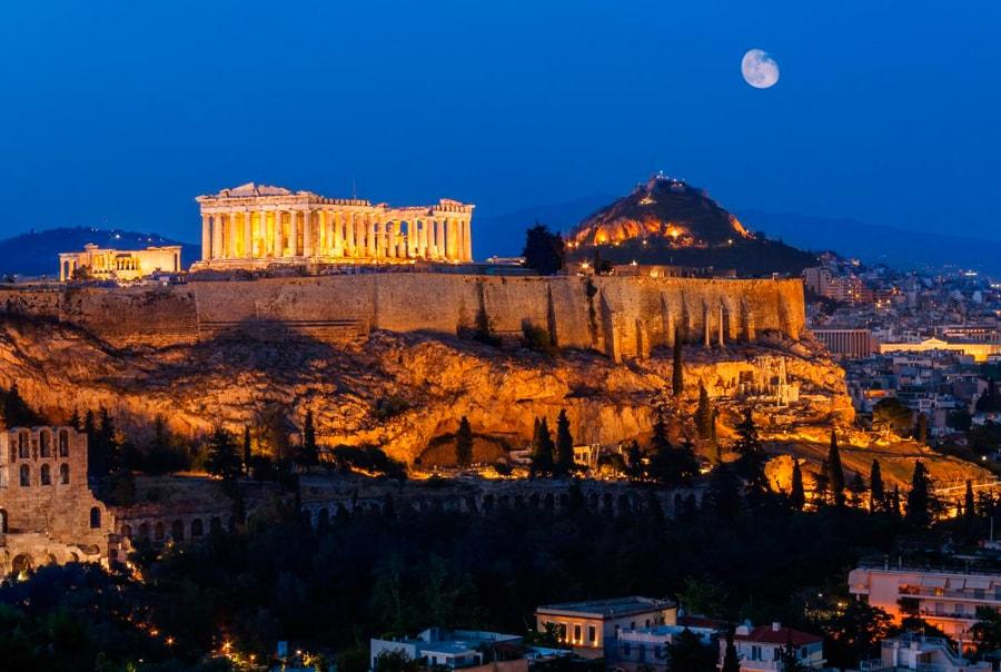 Первый раз в Греции