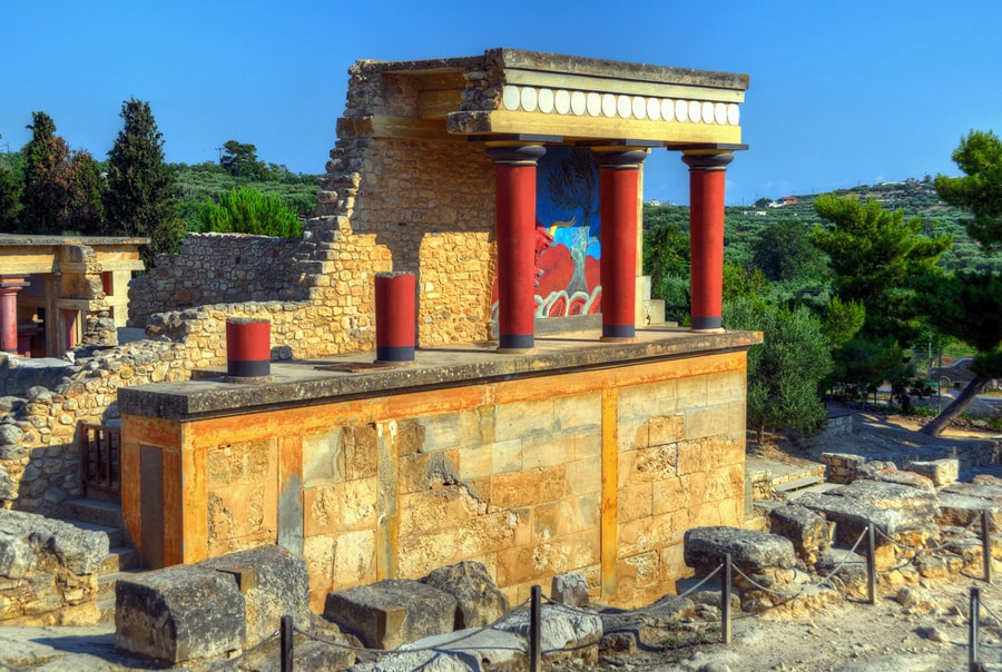Достопримечательности острова Крит в Греции