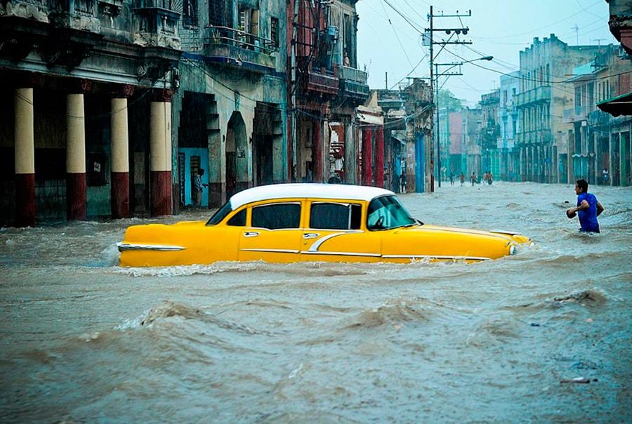 Сезон дождей на Кубе