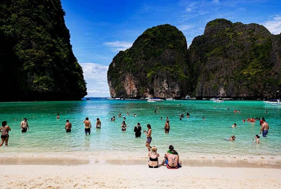 Чистые пляжи Таиланда с белым песком