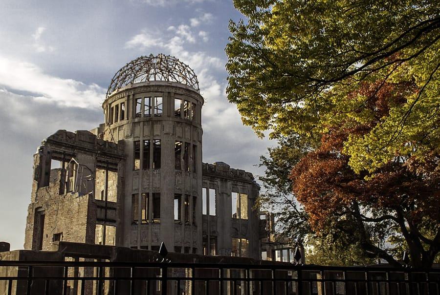 Хиросима памятник