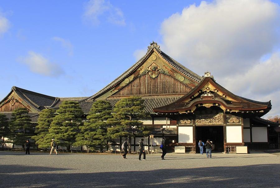 Замок в Киото