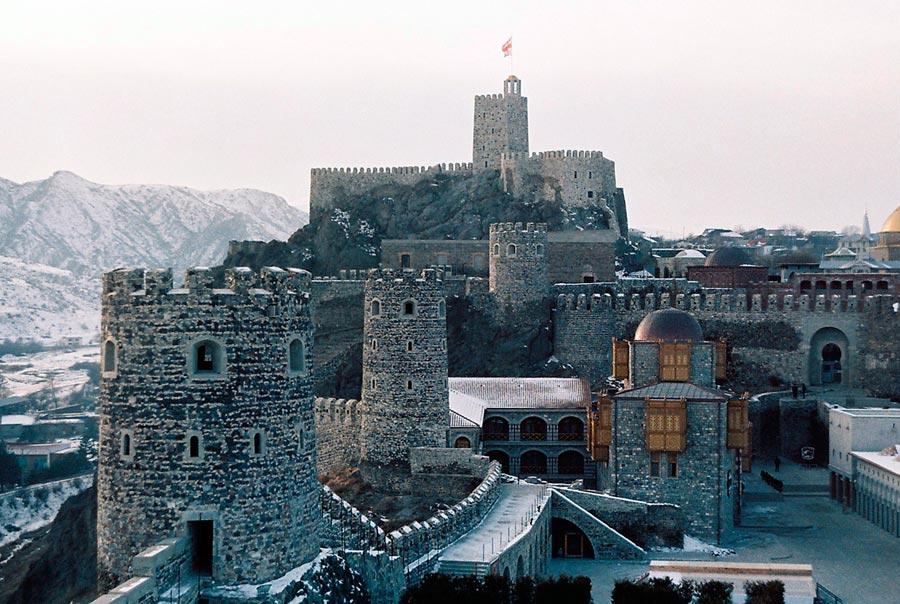 Красивая Ахалцихская крепость