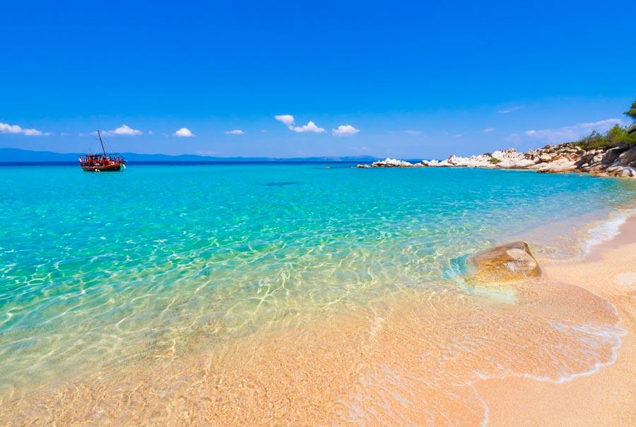Пляжный отдых в Салониках