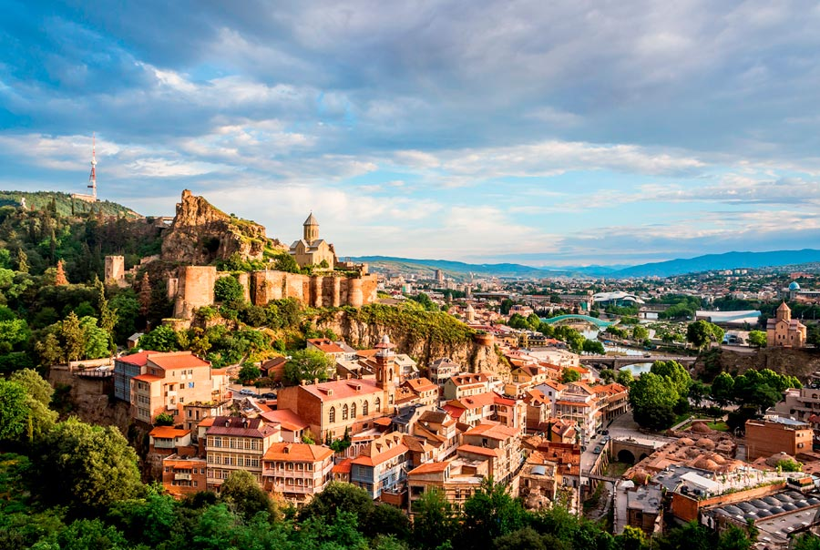 Красивые достопримечательности Тбилиси