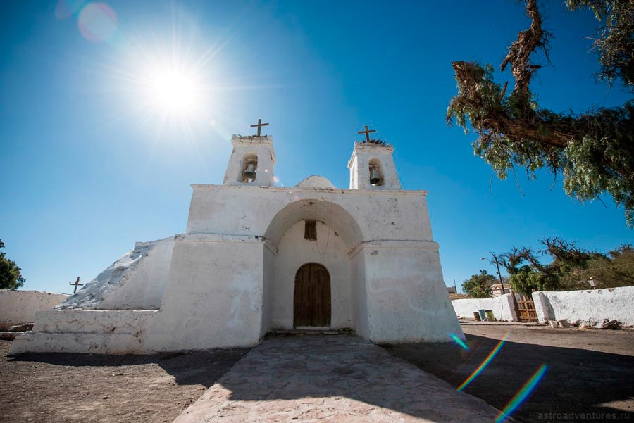 Церковь в Чили